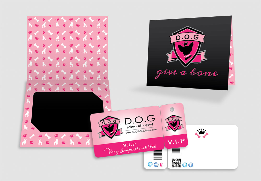Pet Boutique Branding