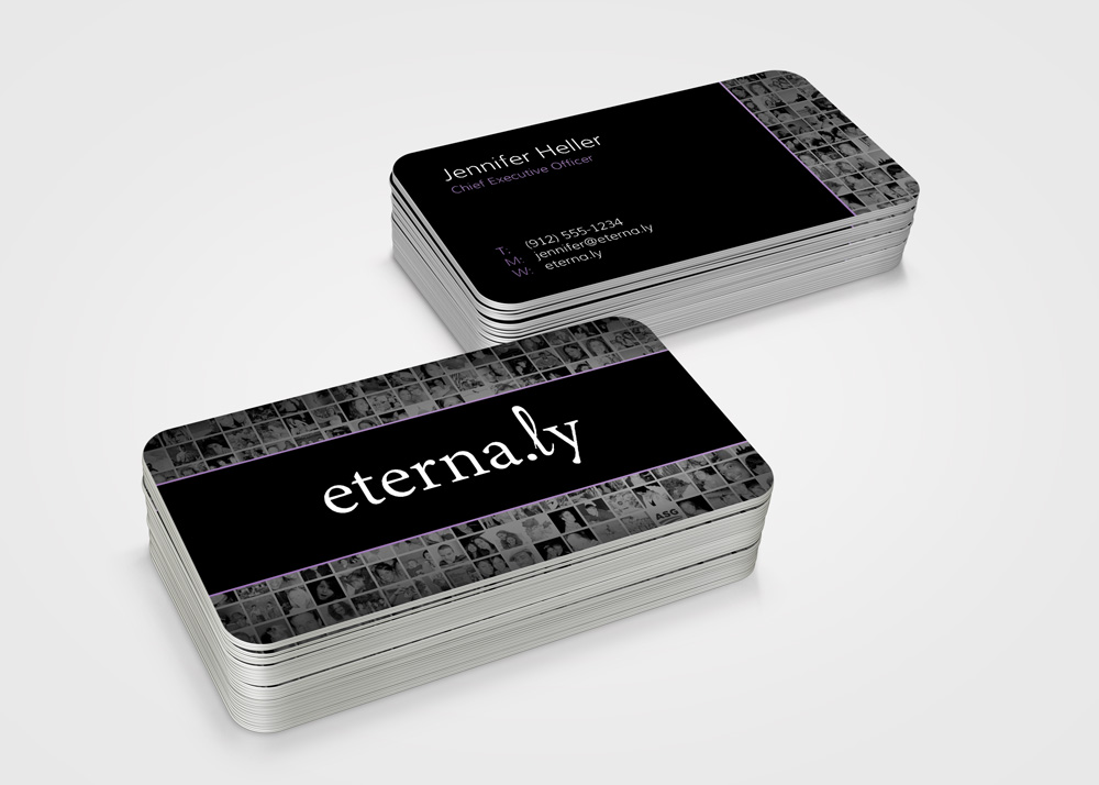 Tech Startup Business Cards – vonRocko Design