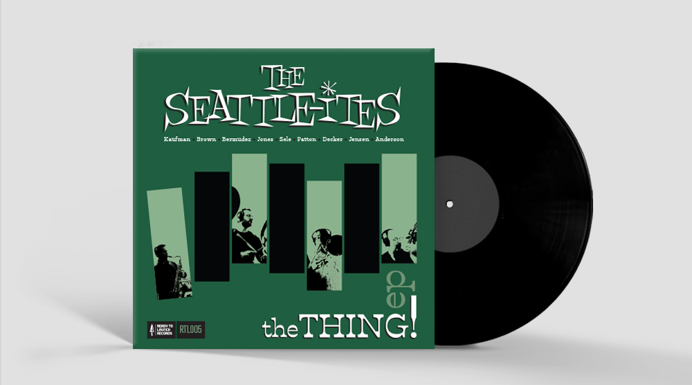 Record Album Design - The Seattle-ites