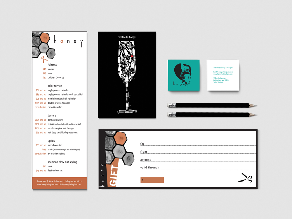 Salon Branding & Design