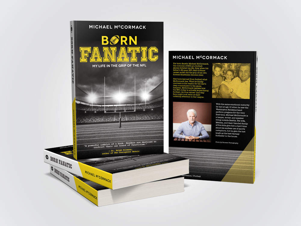 Michael McCormack NFL Book Design