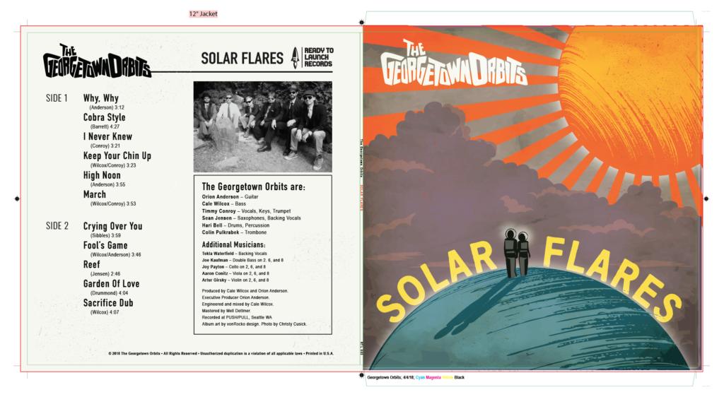 Record Album Design - The Georgetown Orbits